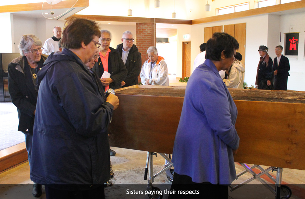 Venerable Suzanne Aubert moved to new resting place