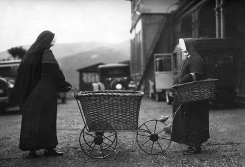 Collecting baskets