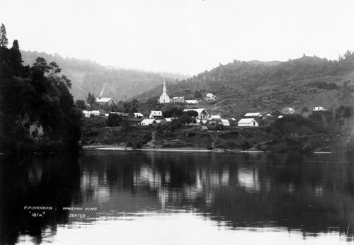 A Turnbull Jerusalem from the Whanganui river, c1895