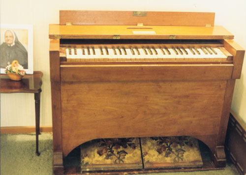 Suzanne Aubert's Organ Bequeathed to Taradale Anglican Church and later to Miss Dickson of Hastings